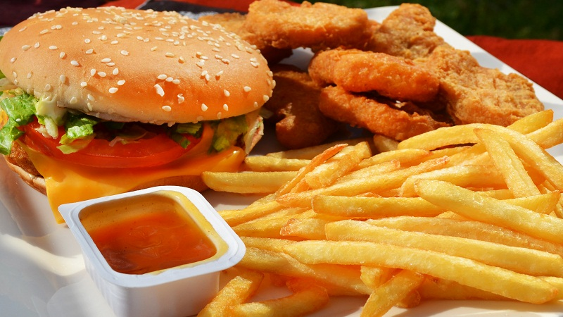 Avoid fast food and fried stuff