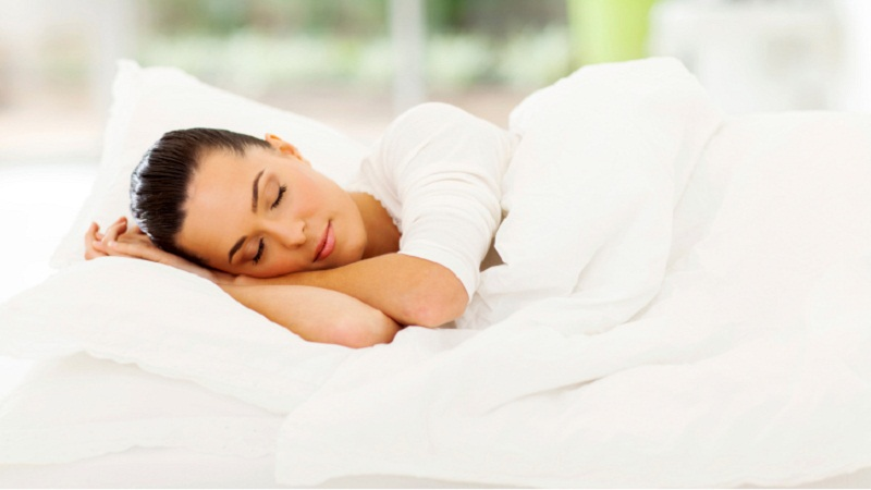 Proper sleep and calm state of mind