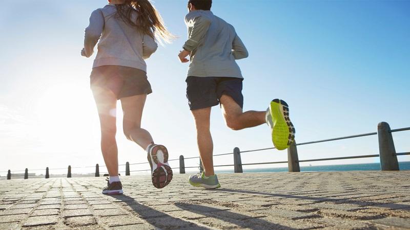 Regular Walk and brisk jog